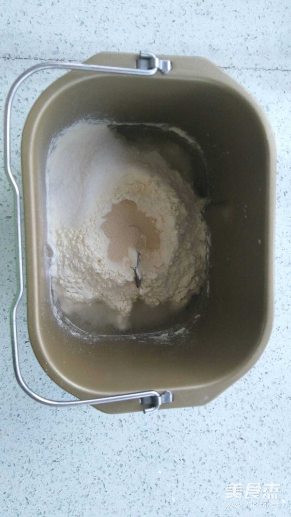 老式面包 松软拉丝的做法图解
