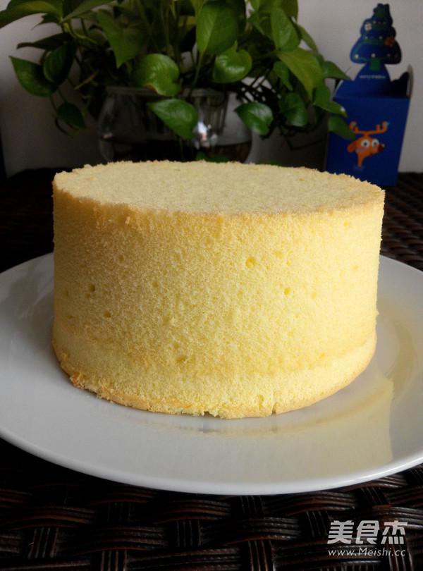 烤箱之香草戚风蛋糕(6寸)的制作