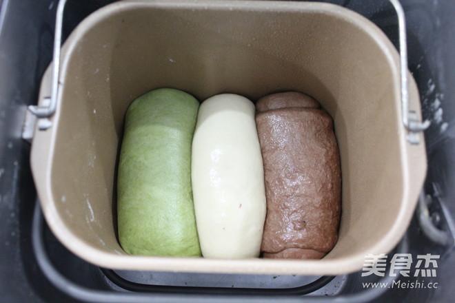 三色面包怎样做