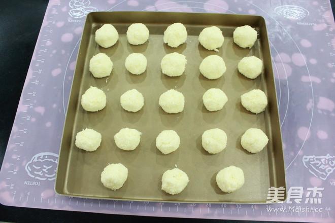 蛋白椰蓉球怎么吃