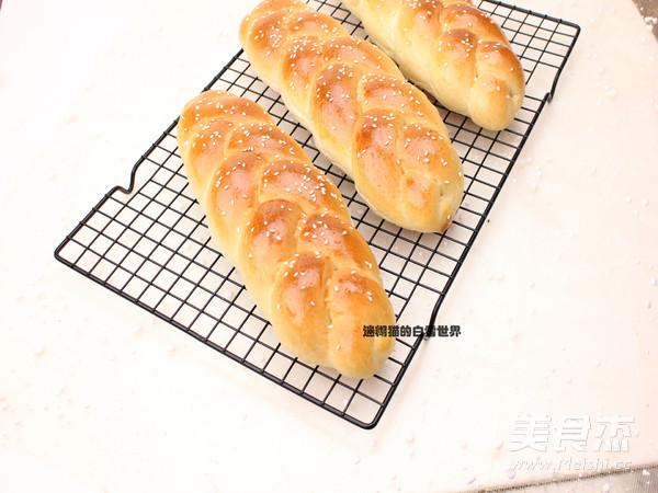 中种法辫子面包怎样做