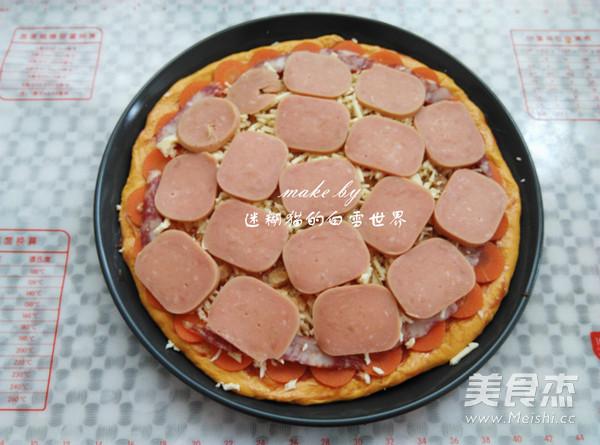 南瓜干虾健康披萨怎样炒