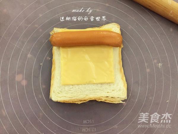 黄金吐司卷怎样煮