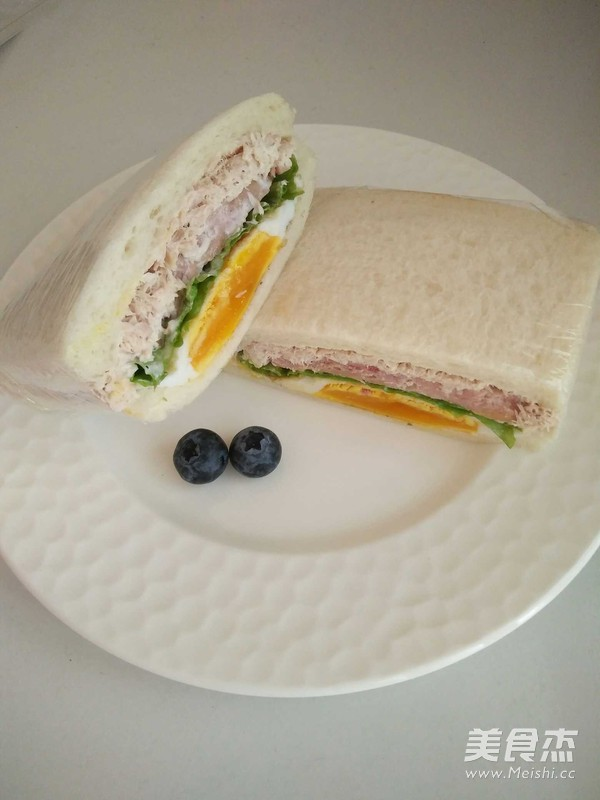 金枪鱼三明治怎么炒