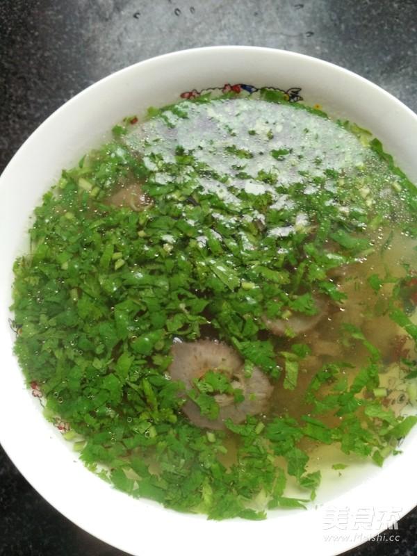 海参汤成品图