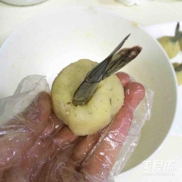 黄金虾球怎样炒