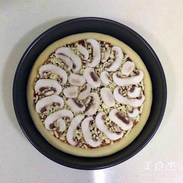 培根口蘑田园披萨怎样炖