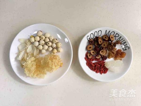 银耳莲子百合汤的做法大全