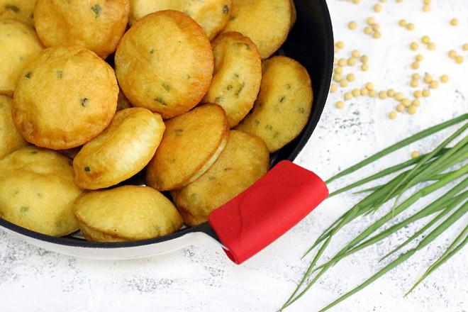 福建小吃油饼成品图