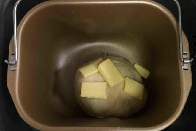 炼乳吐司(中种)的家常做法