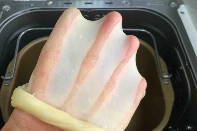 炼乳吐司(中种)的简单做法