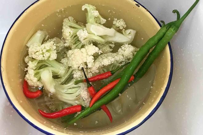 干锅花菜的做法图解