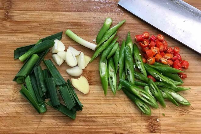 干锅花菜的家常做法