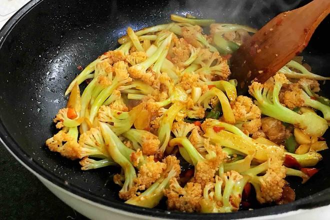 干锅花菜怎么煮