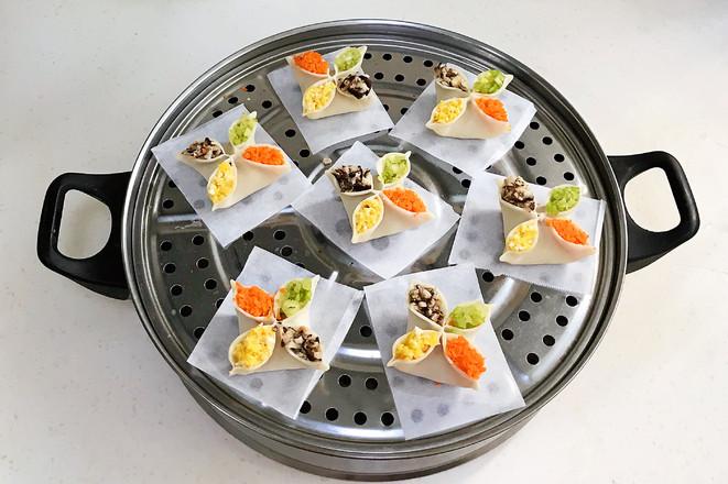 四喜蒸饺怎样炒