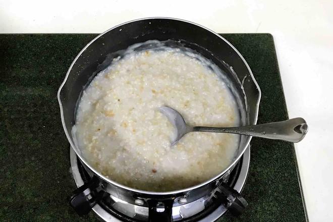牛奶酒酿燕麦的做法图解