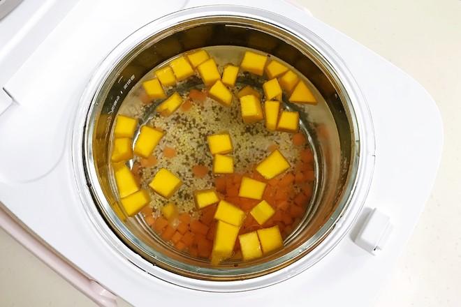藜麦南瓜小米粥怎么吃