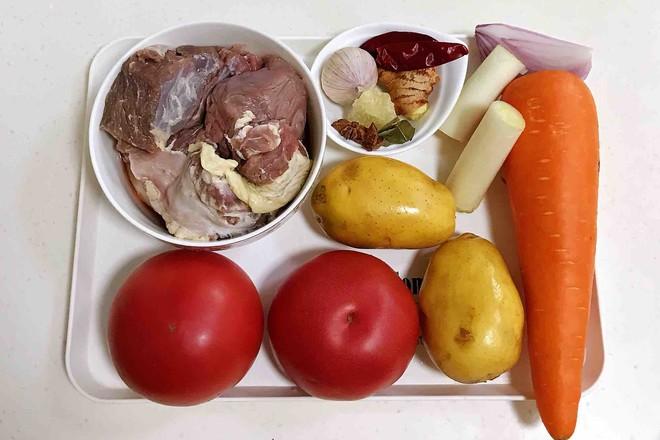 番茄土豆牛腩汤的做法大全
