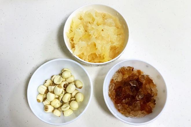 桃胶银耳凤梨甜汤的做法大全