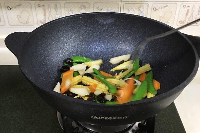 玉米笋炒时蔬怎么吃