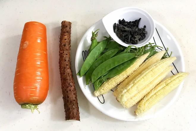 玉米笋炒时蔬的做法大全