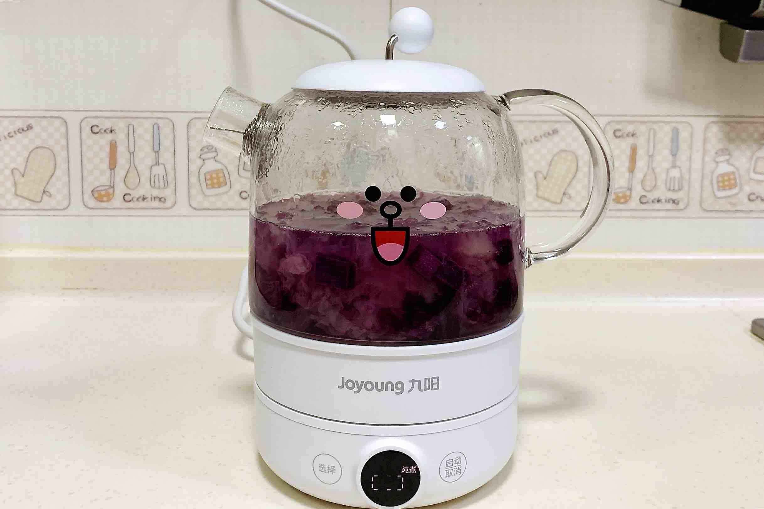 紫薯银耳汤怎么炒