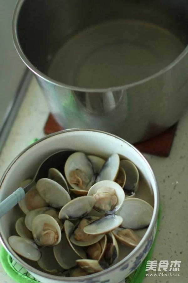 嫩豆腐般的文蛤蒸蛋的做法图解