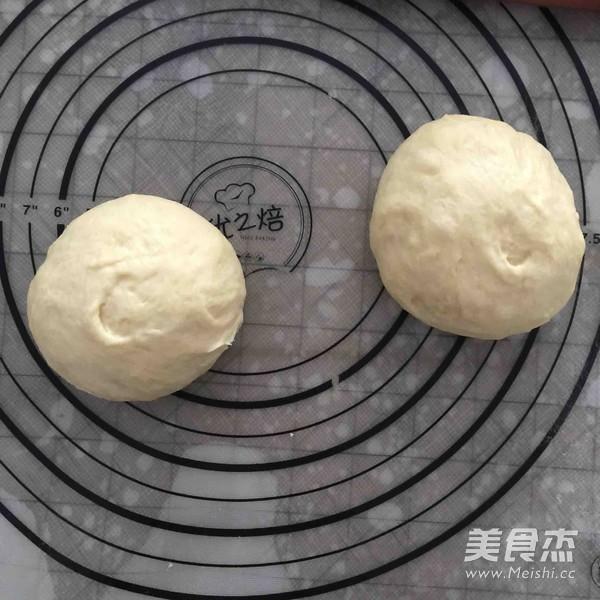 面包机版肉松面包卷的做法图解