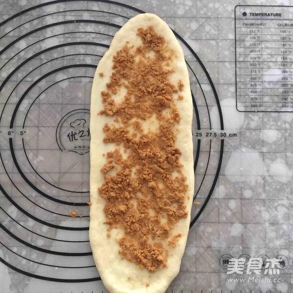 面包机版肉松面包卷的家常做法