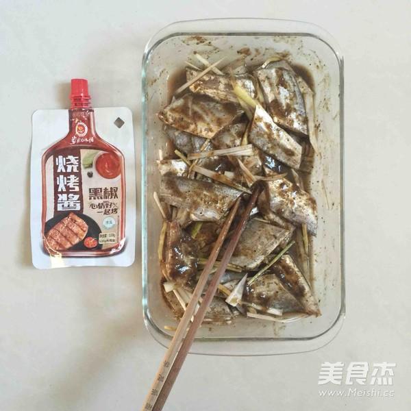 黑椒烤带鱼的家常做法
