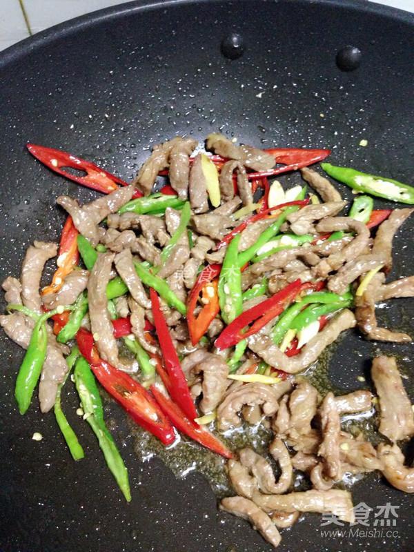 杭椒炒牛肉怎么做