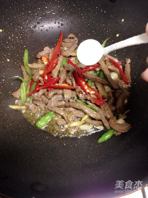 杭椒炒牛肉怎么炒