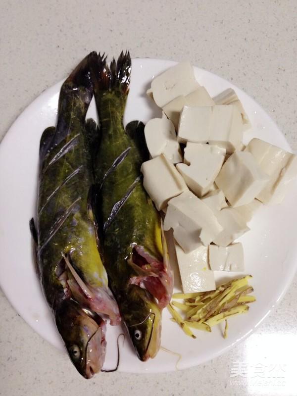 黄骨鱼豆腐汤的做法大全