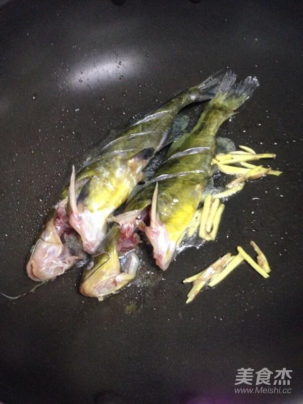 黄骨鱼豆腐汤的家常做法