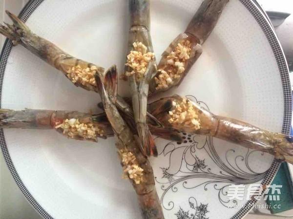蒜蓉大虾怎么吃