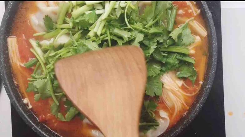 番茄菌菇风味汤饺怎么煮