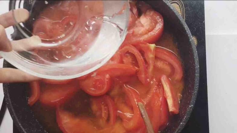 番茄菌菇风味汤饺怎么吃