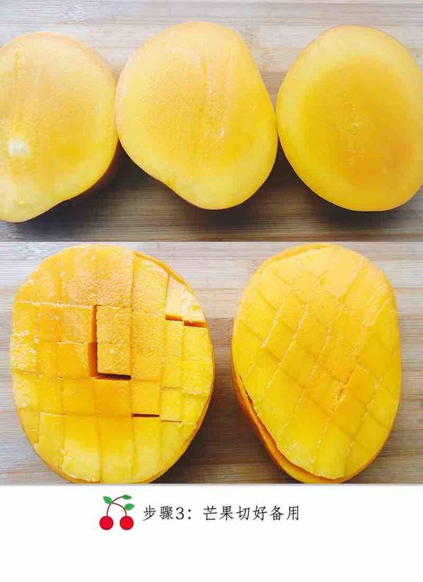 芒果糯米饭的家常做法