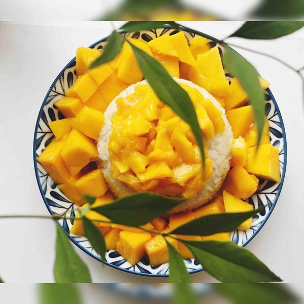 芒果糯米饭怎么做