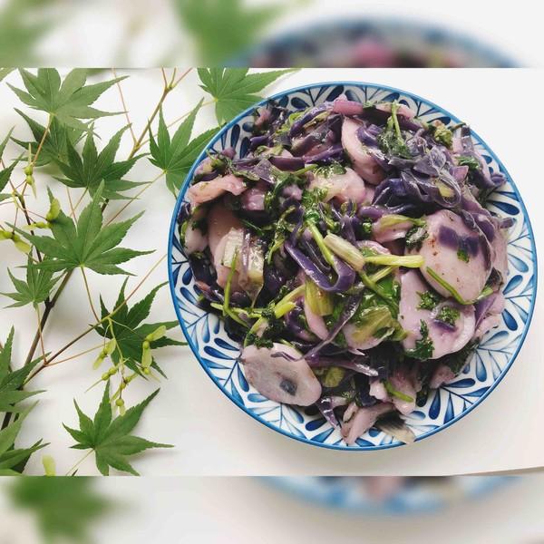 蔬菜沙拉成品图