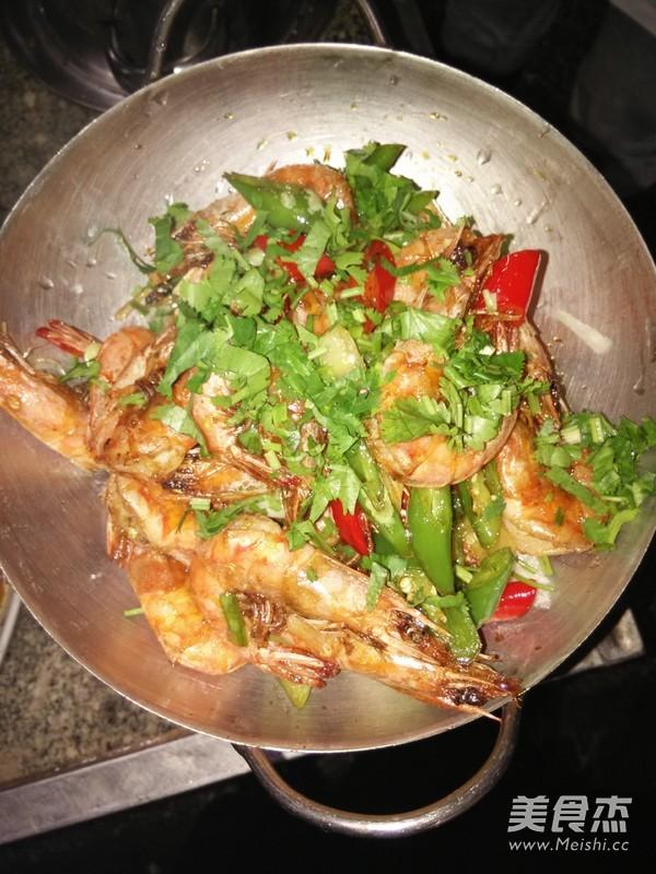 干锅河虾怎么炒