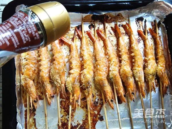 黑椒烤虾怎么炒