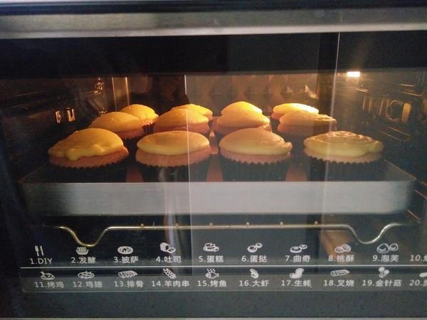 卡仕达杯子蛋糕的制作方法