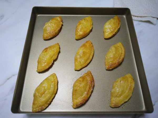 蛋挞皮菠萝派怎样煮