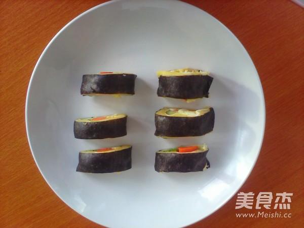 土豆泥寿司成品图