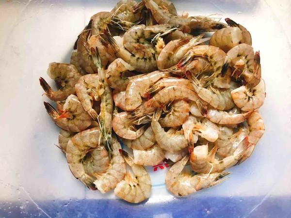 韭菜苔烧海虾的做法大全