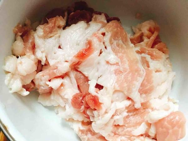 五花肉白菜炖粉丝的做法图解