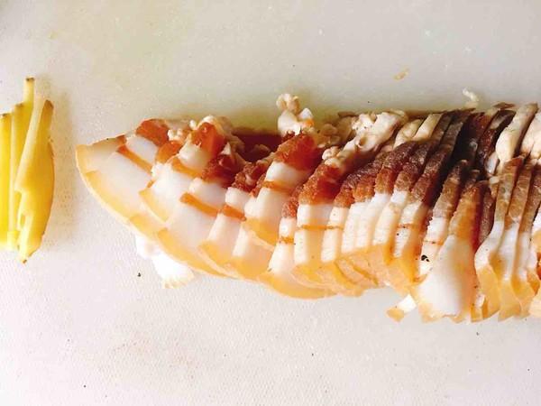 芹菜炒腊肉的做法图解