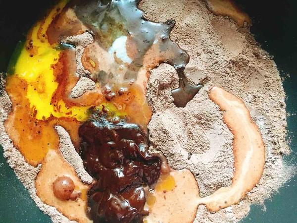 南瓜巧克力吐司的做法大全