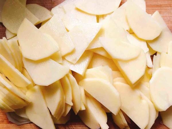 孜然土豆片的家常做法